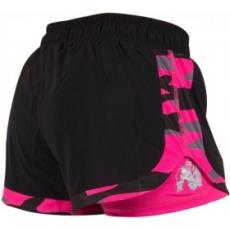 Gorilla Wear Denver Short (fekete-pink) (1 db)