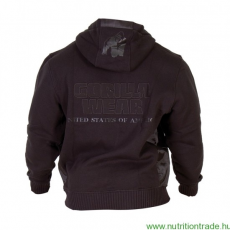 Gorilla Wear LOGO HOODED JACKET fekete XXL Gorilla Wear