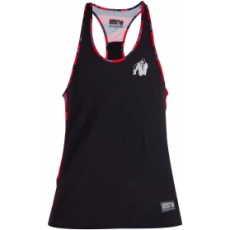Gorilla Wear Sacramento Camo Mesh trikó (fekete-piros) (1 db)
