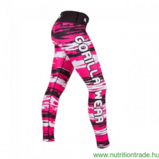 Gorilla Wear SANTA FE TIGHTS fekete/pink L leggings Gorilla Wear
