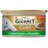 Gourmet Gold omlós falatok 12 / 24 / 48 x 85 g - Lazac & csirke (12 x 85 g)