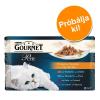 Gourmet próbacsomag 4 x 85 g - A la Carte: kacsa, szárnyas, szardínia, pisztráng