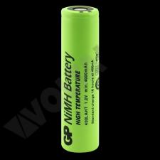 GP BATTERIES GP400LAHT magas hőmérsékletű akku 4000mAh Ni-Mh 7/5 A (7/5AF) 18,3*70mm speciális elem
