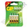 GP BATTERIES LR03 GP24A-C8 Super alkáli mikró elem bliszteres