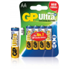 GP elem Ultra Plus LR6 Mignon AA (ceruza elem) 4db/csom.