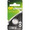 GP lítium gombelem CR2016