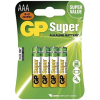 GP Super alkáli LR03 (AAA) 6 + 2 db bliszter