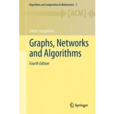 Graphs, Networks and Algorithms – Dieter Jungnickel idegen nyelvű könyv