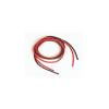 Graupner SJ Silikonový kabel 1,0qmm, 17AWG, 2x1metr, černý a červený