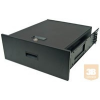 Great Lakes 7206-DR2 2U kihúzható fiók rack szekrénybe, zárható (45 kg-ig)