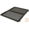 Great Lakes 7206-FR-A-350MM mély fix polc rack szekrénybe, 1U, állítható szerelőfülekkel, fekete