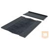 Great Lakes BPB80 Alsó fedő panel Kefés kábelbevezetés 800mm E szekrényhez