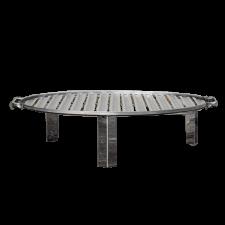 Grillsütő rács lábakon INOX kerek D480 H120 (Grillsütő rács) grillsütő