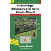 Grossvenediger-Nationalpark Hohe Tauern-Krimml-Mittersill turistatérkép - f&b WK 5121