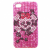 GSMOK Back Case Diamond iPhone 4 tok hátlap, rózsaszín