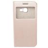 GSMOK Flip Case Magnet View oldalra nyíló Samsung Galaxy A3 (2017) tok, rose gold