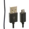 GSMOK Log-on Micro USB kábel 3m, fekete
