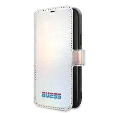Guess Etui Guess GUFLBKN58BLD iPhone 11 Pro srebrny ezüst / könyv Színjátszó telefontok tok és táska