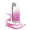 Guess Etui Guess GUHCN65WO4GPI iPhone 11 Pro Max rózsaszín kemény tok 4G Gradient telefontok