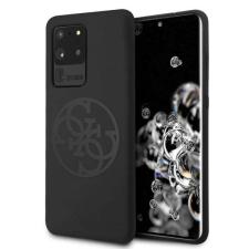 Guess GUHCS69LS4GBK S20 Ultra G988 fekete kemény tok Szilikon 4G árnyalatnyi telefontok tok és táska
