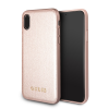 Guess iPhone X Iridescent Hard hátlap, tok, rose gold