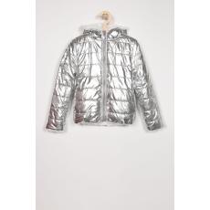 GUESS JEANS - Kifordítható gyerek dzseki 136-166 cm - ezüst - 1403080-ezüst