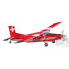 Guillow Pilatus PC6 TurboPorter lézerrel vágott 662mm