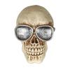 Guirca Dekoráció - koponya szemüveggel (11 cm)