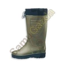 Gumicsizma 44 bélelt fűzős munkavédelmi cipő