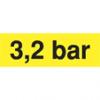 Gungldekor 3,2 bar sárga matrica