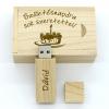 Gungldekor Fa 16GB-os pendrive születésnapra igényes kivitelezésű fa díszdobozban névvel