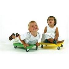 Guruló zsámoly gumírozott görgőkkel scooter deszka, rollerdeszka roller