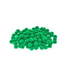 - gyártó nem ismert - Zsenília golyó műszál 2cm sötét zöld [100 db] dekoráció