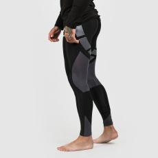 GymBeam Black Grey férfi leggings GymBeam
