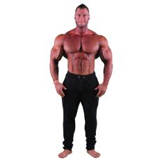 GymBeam Melegítőnadrág Slimfit Black - GymBeam XL