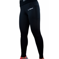 GymBeam Mesh Black női leggings - GymBeam L