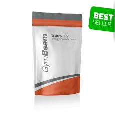 GymBeam TrueWhey fehérje - GymBeam + póló ajándékba 2500 g strawberry stevia