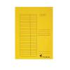 Gyorsfűző karton A/4 VICTORIA sárga 5 db IDPGY02