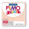 Gyurma, 42 g, égethető, FIMO Kids, bőrszín