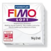 Gyurma, 56 g, égethető, FIMO Soft, fehér