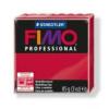Gyurma, 85 g, égethető, FIMO Professional, kármin
