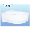 H2O Fortuna 160x100 aszimmetrikus kád