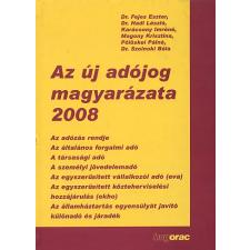Hadi László Az új adójog magyarázata, 2008 társadalom- és humántudomány