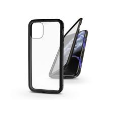 Haffner Apple iPhone 11 Pro Max mágneses, 2 részes hátlap előlapi üveggel - Magneto 360 - fekete tok és táska
