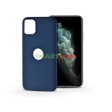 Haffner Apple iPhone 11 Pro Max szilikon hátlap - Soft Logo - kék tok és táska