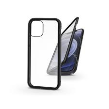 Haffner Apple iPhone 12/12 Pro mágneses, 2 részes hátlap előlapi üveggel - Magneto 360 - fekete tok és táska