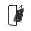 Haffner Apple iPhone 12 Pro Max mágneses, 2 részes hátlap előlapi üveg nélkül - Magneto fekete