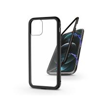 Haffner Apple iPhone 12 Pro Max mágneses, 2 részes hátlap előlapi üveg nélkül - Magneto fekete mobiltelefon kellék