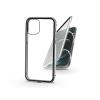 Haffner Apple iPhone 12 Pro Max mágneses, 2 részes hátlap előlapi üveggel - Magneto 360 - ezüst