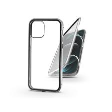 Haffner Apple iPhone 12 Pro Max mágneses, 2 részes hátlap előlapi üveggel - Magneto 360 - ezüst mobiltelefon kellék
